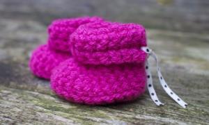 roze slofjes haken - Dimfies