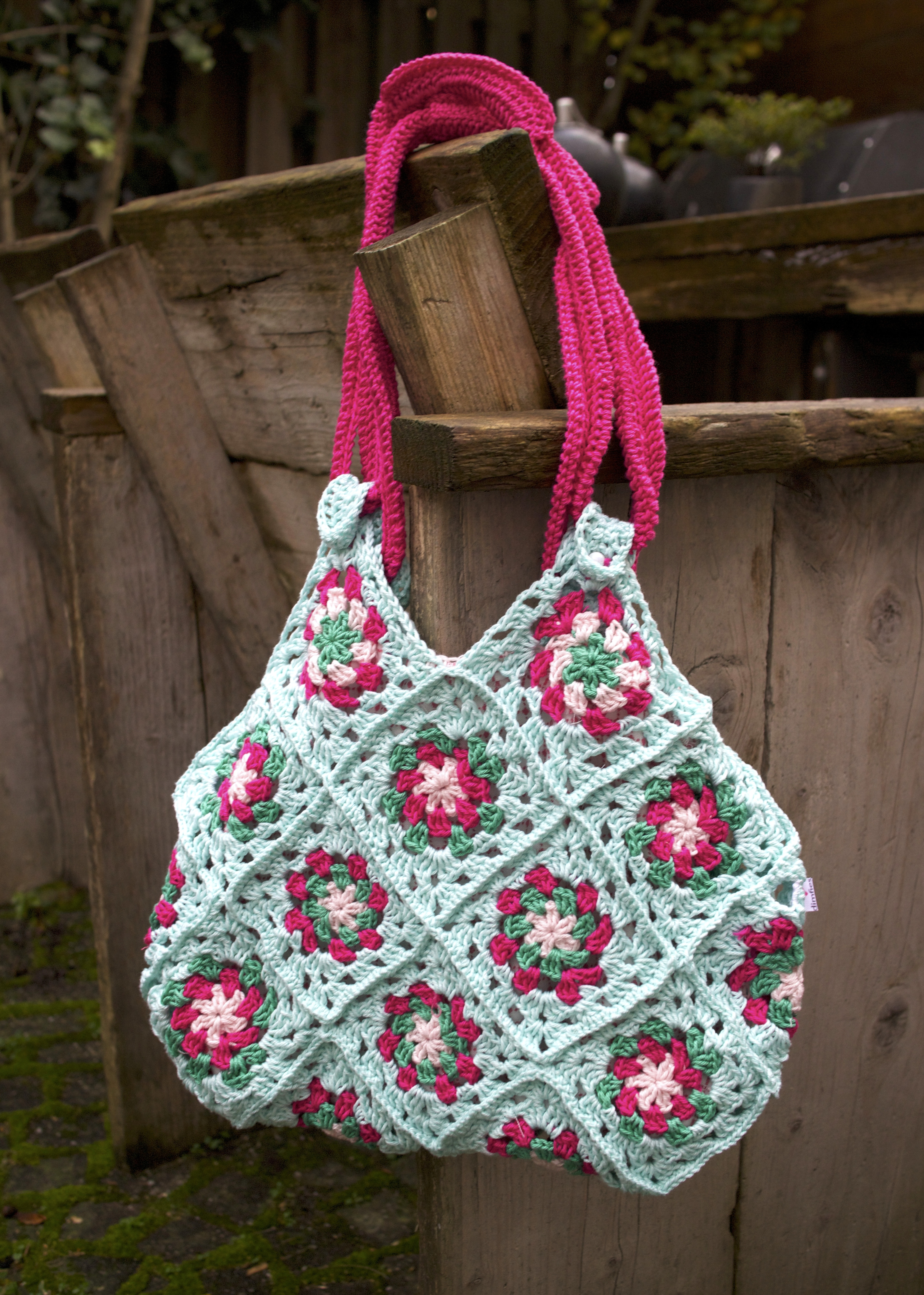 Tas Zelf Ontwerpen : Kleurige granny tas haken ontwerpen fotografie