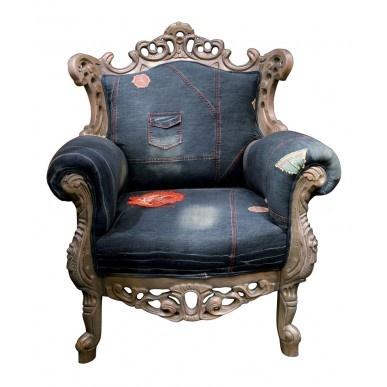 Wat kun je maken van oude spijkerbroeken for Design stoel 24