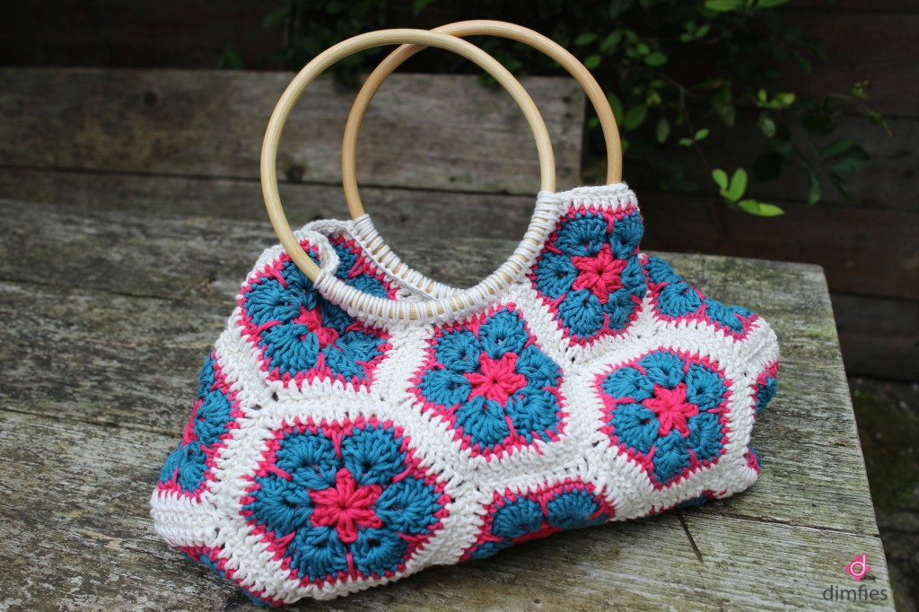 African flower bag Etsy shop Dimfies