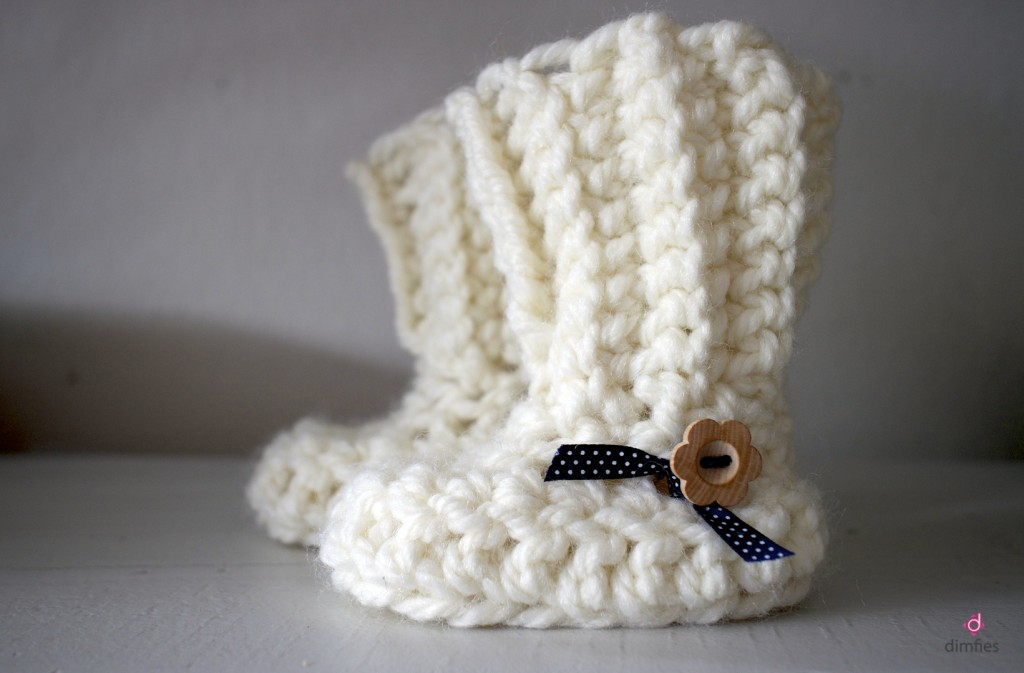 Baby Boots Dimfies op Etsy shop