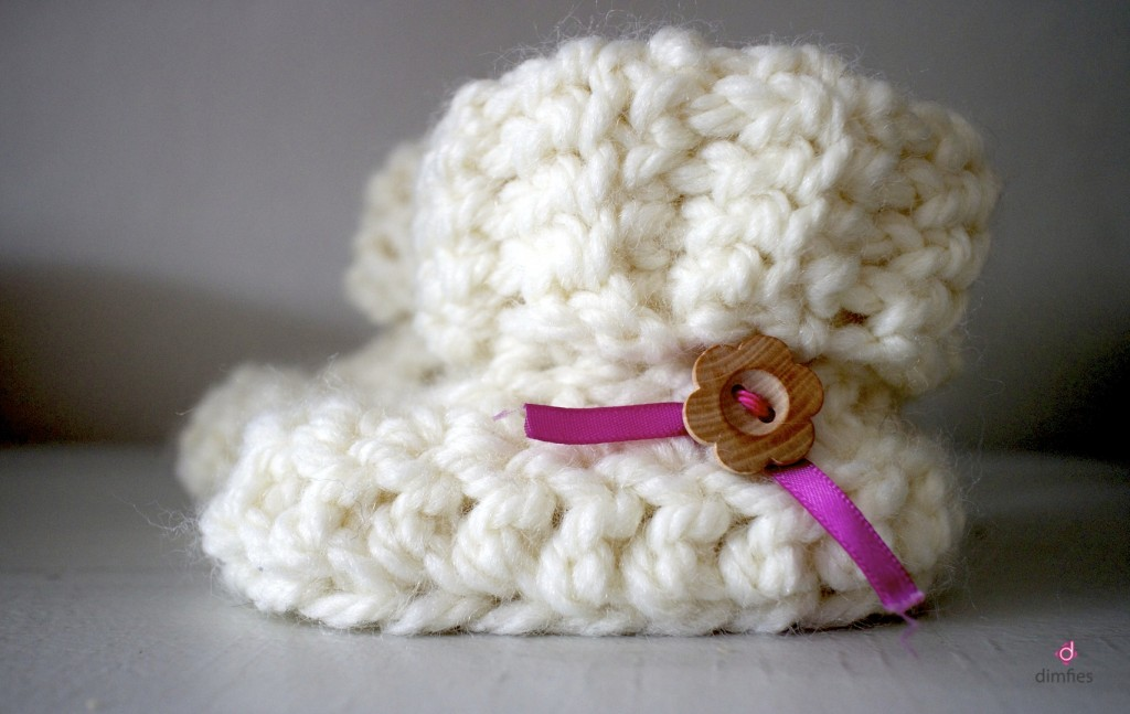 Baby Booties Etsy shop Dimfies