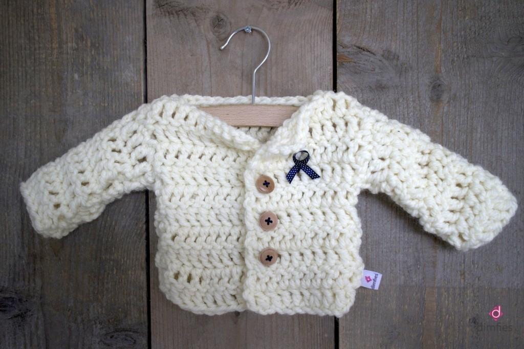 Baby vest Dimfies op Etsy shop