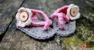 Haakpatroon Baby Slippers