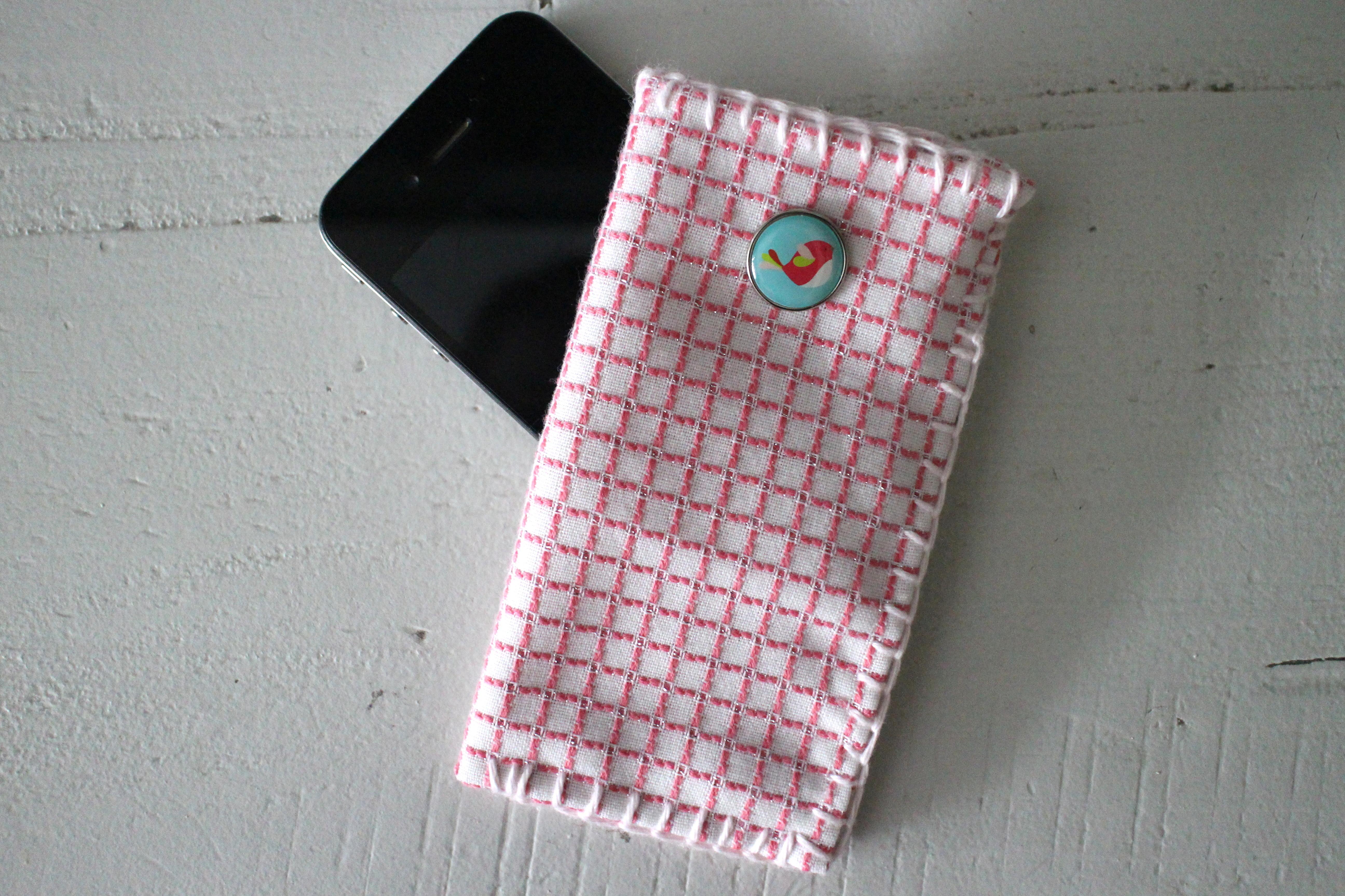 Populair Telefoonhoesje maken - Haken, ontwerpen, fotografie en meer #HG71