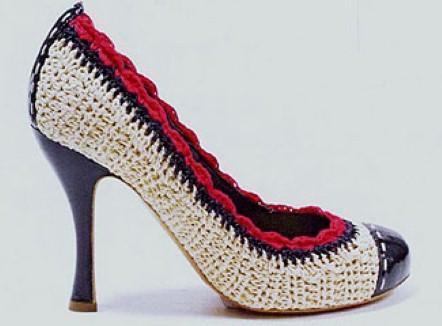 Gehaakte schoenen
