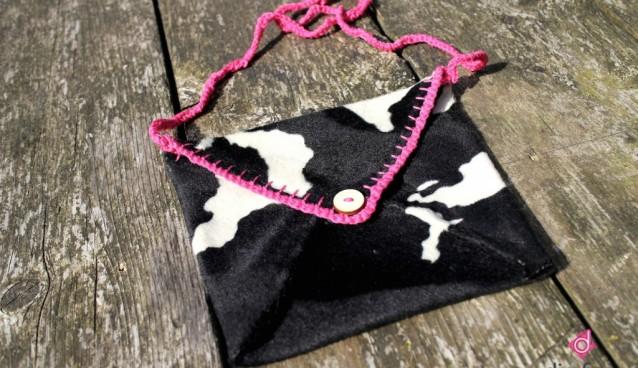 Hip handtasje: koeientas maken