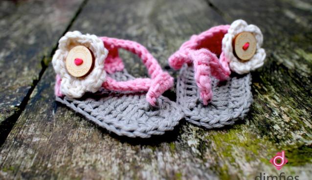 Haakpatroon Baby Slippers