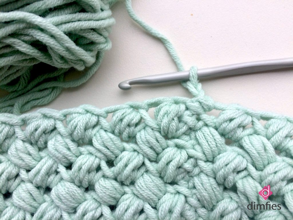 Lampenkap puff stitch - Dimfies